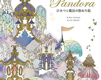 Pandora - Secret and Magical Journey  Coloring Book -  Livre the Coloriage by Takei Miki - Colors Make you Happy