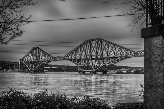 Edinburgh digital downloads, Monochrome, Landscape Photography, scottish prints, wall art, fine art photography, river, scottish photography