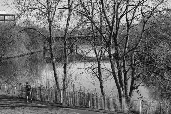 River Clyde Glasgow, Black and White Photography, Glasgow Photography, River Scene, Wall Art, Wall Decor, Nature Photography, Scotland