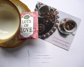 Postcard Let's have some tea....