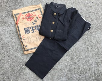 VTG old stock Japanese school JKT&pants #54