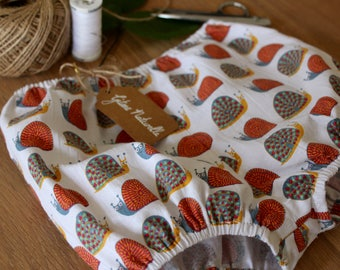 Baby Bloomers, Cotton, Snail Print