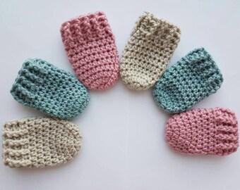 Baby Mittens, mittens, newborn mittens, baby thumbless, babymittens, new born, newborn mittens, new born glove