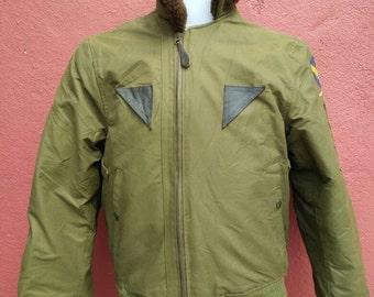 Rare Vintage Army Air Force By Speiwak And Son Flight Jacket Intermediate Flying Type B 15 A Size 36 Made in USA
