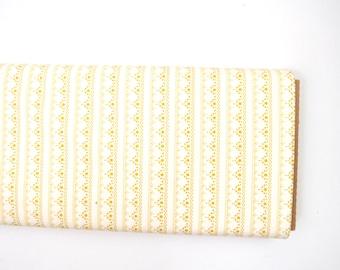 Lace Edgen Golden - Millie Fleur - HALF YARD - Art Gallery Fabric - Cotton Fabric - Quilting Fabric