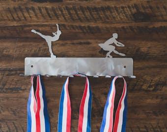Figure skating Medal Display, Ice Skating Medal  Display, Medal Holder, Medal Hanger, Medal Rack