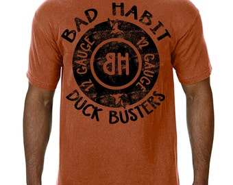 Bad Habit Hunting Apparel* Duck Busters Comfort Colors Tee