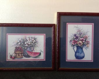 F Buckley ~ Vintage Signed Prints