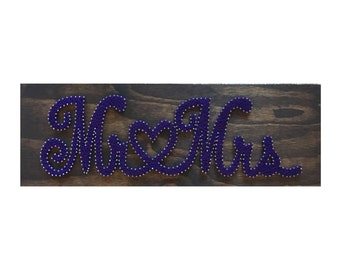 String Art- Mr & Mrs