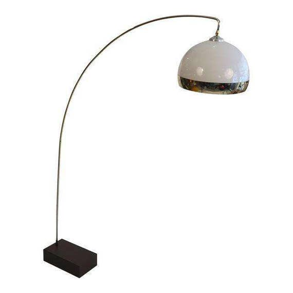 Italian Vintage Arc Floating Floor Lamp