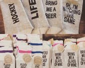 Custom wine beer Socks, if you can read this, gifts for her, gifts for him, stocking stuffers, christmas gift, mom gift, funny gag gift