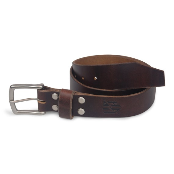 horween brown chromexcel leather belt