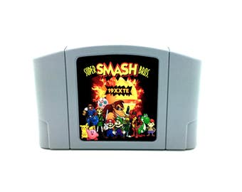 Super Smash Bros. Tournament Edition N64 - 19XXTE - Nintendo 64 Repro