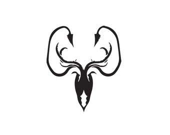 House of Greyjoy Decal - Game of Thrones Decal / Greyjoy / Grayjoy
