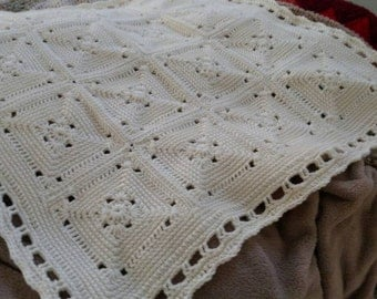 Crocheted blanket, crocheted baby afghan, crocheted baby items, baby accessories