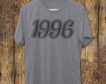21st Birthday gift - 1996 T-Shirt - Vintage Graphic Tee - Gift for him or her - T-Shirt - Vintage Tshirt - 21 Birthday - 21st Birthday shirt