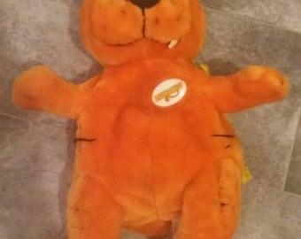 Rare Heathcliff the cat plush back pack