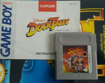 Game Boy Original Game - Duck Tails with Manual