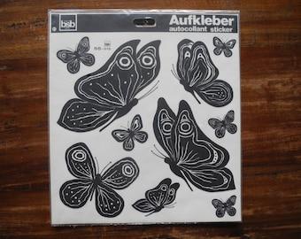 Black Butterfly stickers