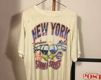 Yankees vs Mets old tee