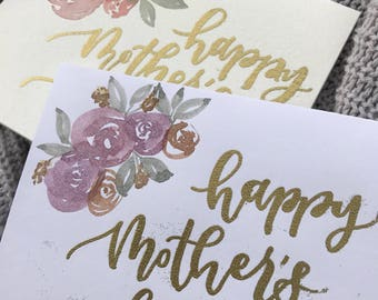 Mother's Day Card (purple)