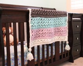 Sugarbush Chill - Luxury Crochet Baby Blanket KIT - Everything you need to make this blanket including the Printed Pattern