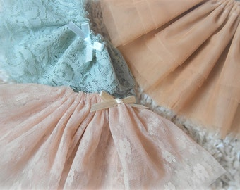 Tsukifly Lillycat / Slim mini / MSD / MNF / Unoa Tulle & Lace Skirts