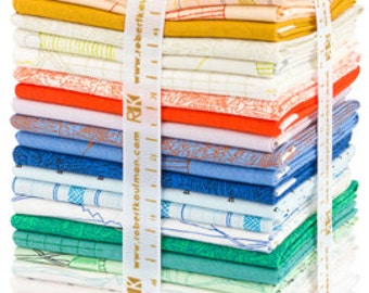 Friedlander fat quarter bundle by Carolyn Friedlander Complete Collection for Robert Kaufman fabric