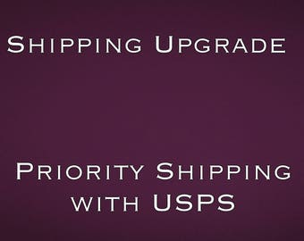 Upgraded Shipping with USPS for US orders only