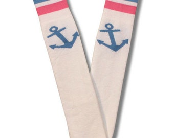 Delta Gamma Tube Socks in White