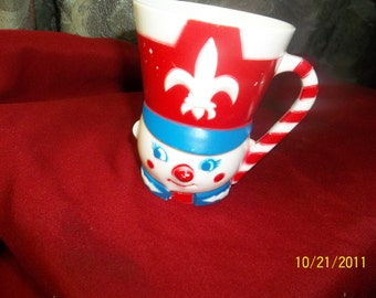 F&F mold co toy soldier cup