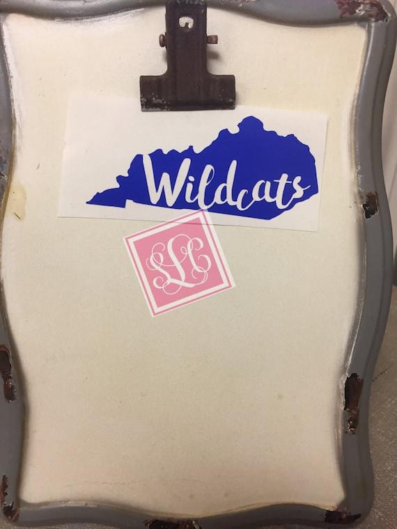 Kentucky wildcats decal