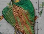 Large single leaf
