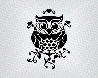 Owl svg, Owl Design, Cutout, Vector art, Cricut, Silhouette Cameo, die cut, instant download, Digital Cut, Print Files, Svg Files