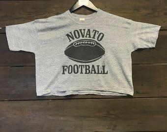 1970's Russell Novato Football Crop Tee