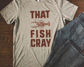 That Fish Cray TriBlend Tee