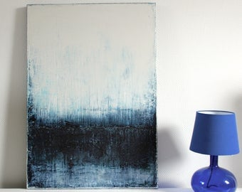 Abstract art, acrylic painting, 70 cm x 100 cm