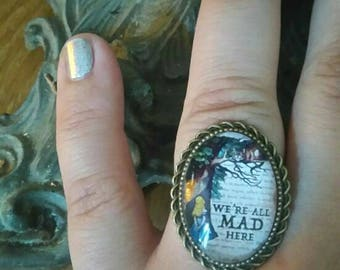 "ring color bronze ""Alice"""