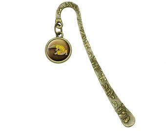 Leopard Gecko Book Bookmark Placeholder With Charm