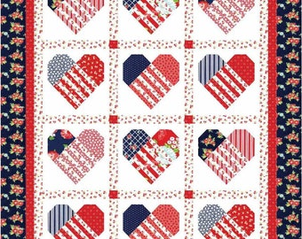 Close to My Heart PDF Quilt Pattern by Mountain Rose Designs