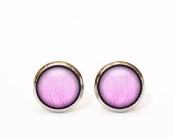 Everyday stud earrings Pink stud earrings Tiny studs gift Pastel stud earrings Romantic studs gift jewelry x-mas Christmas gift for her UK