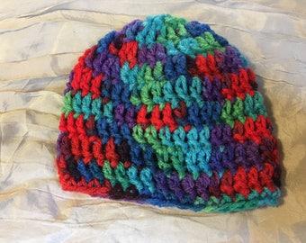 Crocheted Premie Hats