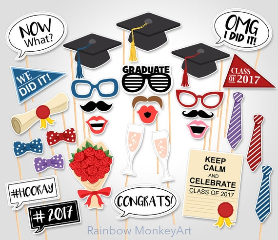 Witty image with regard to printable graduation photo booth props