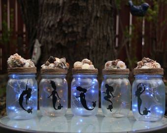 Mermaid Jars - Small                                  Pint Mason Jars (16oz) 15.00 EACH