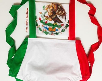 Mexican Flag Romper