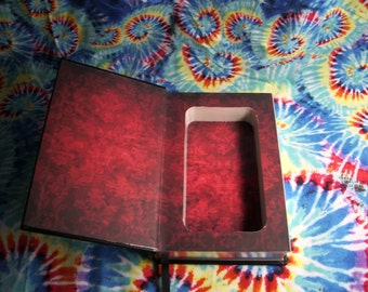Leather Bound Book Safe/Secret Compartment  Dracula