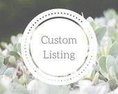 Custom Listing for Laura | Custom Hand-Lettered Decor | Custom Calligraphy Signs