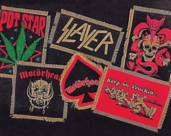 Ratty Ol Handmade Canvas Patches