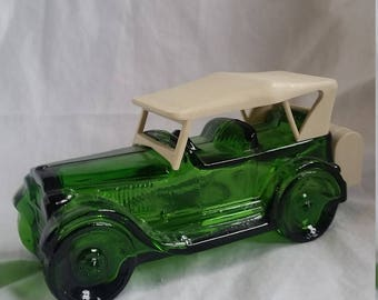 Green Avon Car