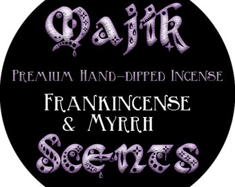 Hand dipped incense (Frankincense and Myrrh)